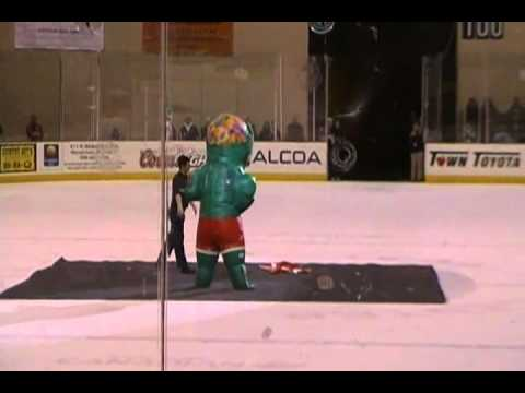 The Zuper Stars Performing in Wenatchee at a Wild game Jan 1, 2011