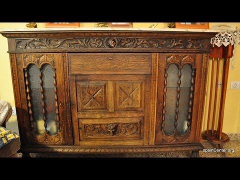 Venta de mueble antiguo aparador de segunda mano youtube - Segunda mano muebles antiguos ...