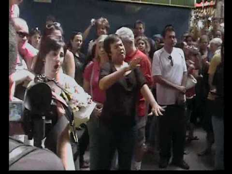 Ópera no Mercado Municipal em São Paulo / Opera in the Market San Paul Brazil - PARTE I