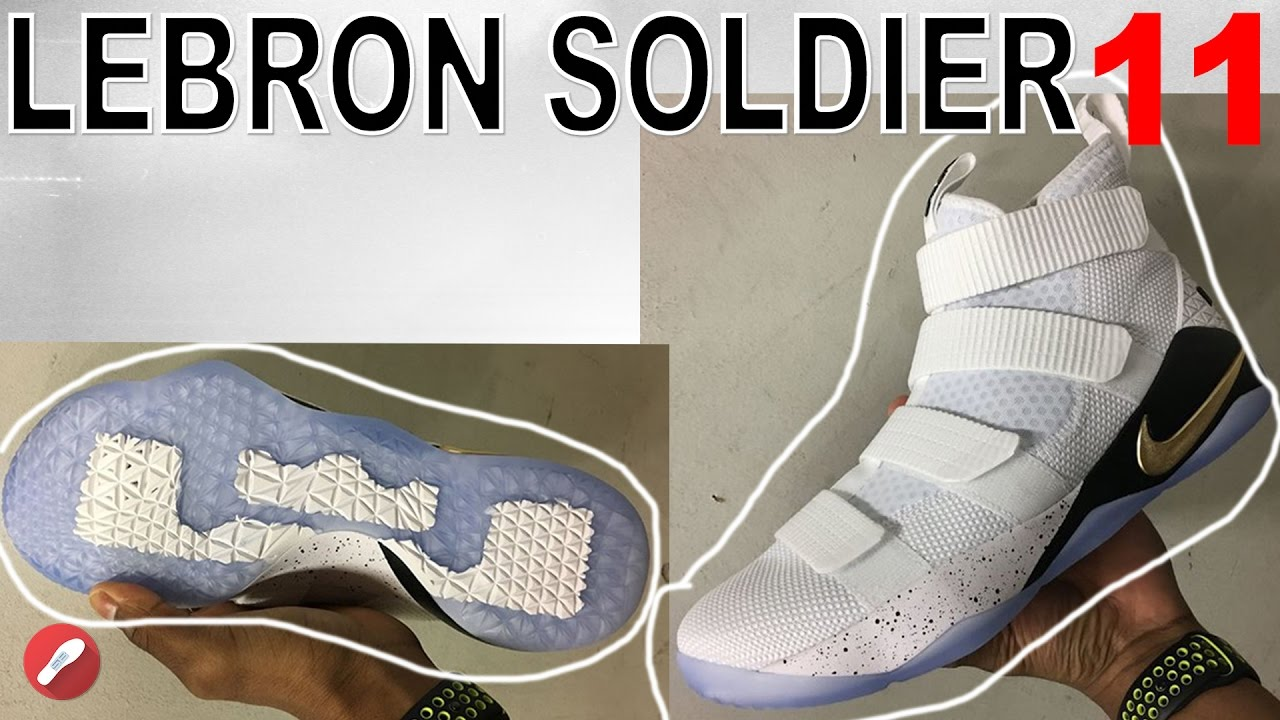 074e168db5f More Leaks of the LEBRON SOLDIER 11! TRACTION   Zoom Units ! - YouTube