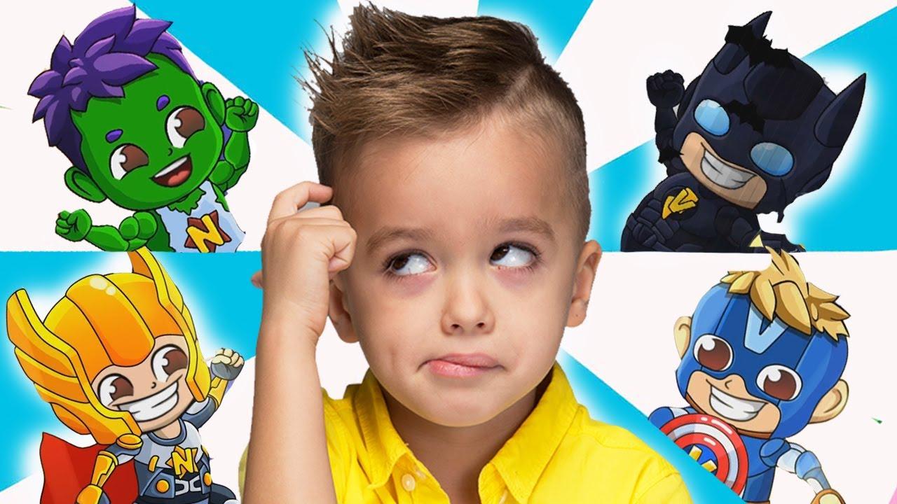 Vlad et Niki se transforment en héros vidéo pour enfants