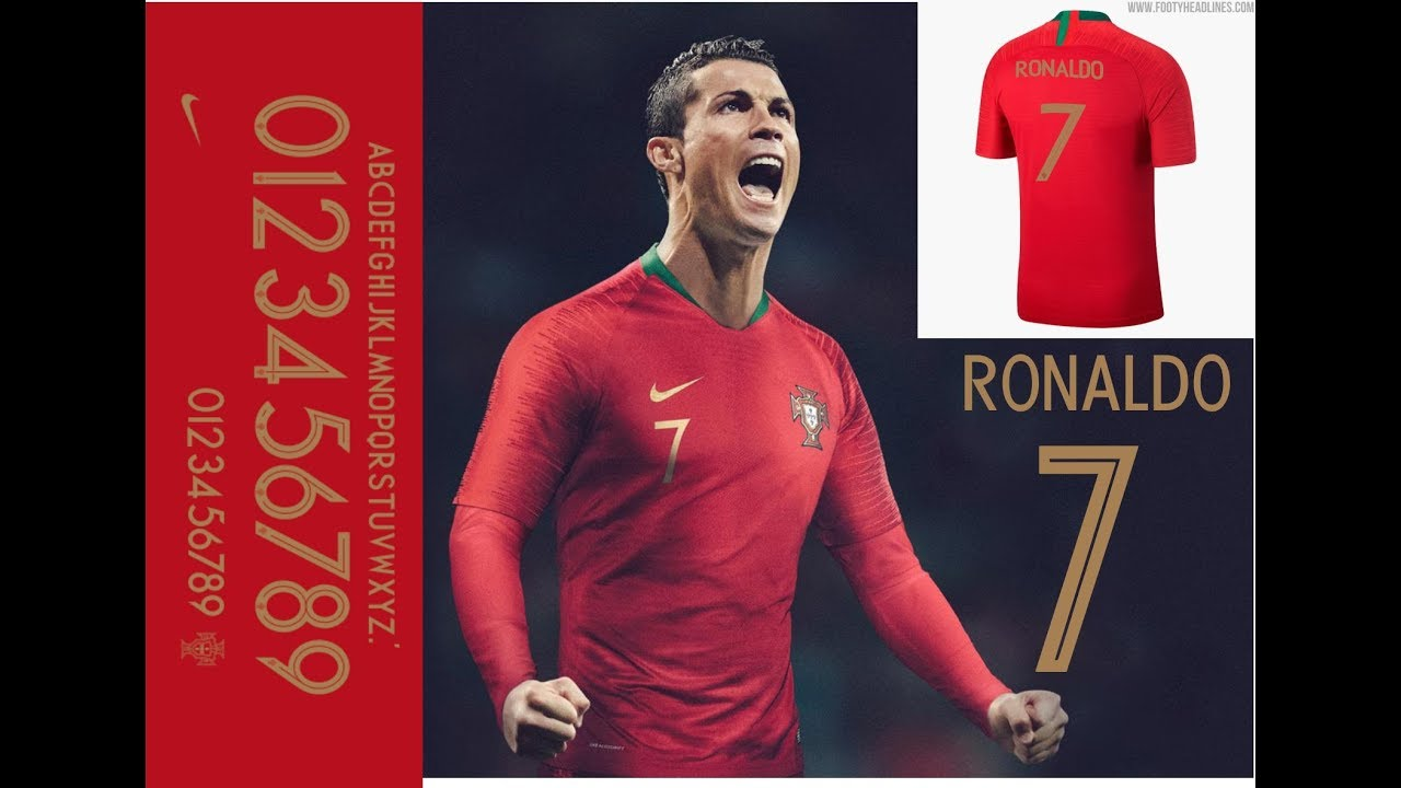 portugal world cup font 2018 free download TTF by Game supporter
