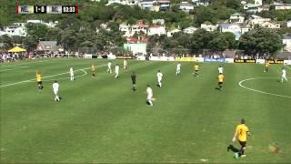 Team Wellington vs Auckland City FC Match Highlights