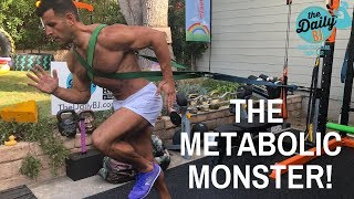 THE METABOLIC MONSTER | BJ Gaddour Advanced Fat Loss Workout