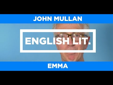 ENGLISH LIT. - Emma - John Mullan