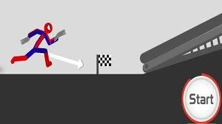 Stickman Backflip 3 Parkour Mode Spiderman Blackflip Android GamePlay 2017