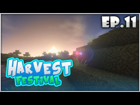 Harvest Festival EP.11 | ฟาร์มของเพื่อสร้างหมู่บ้าน!! (Minecraft Harvest Moon)