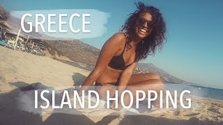 EMPTY BEACHES FOR OURSELVES - Greece Island hopping, Andros