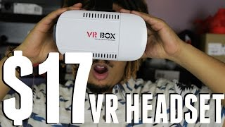 $17 VIRTUAL REALITY HEADSET UNBOXING + REVIEW (VR BOX)(, 2016-04-10T00:00:00.000Z)