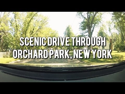 Let's Drive! Scenic Drive Through Orchard Park, New York