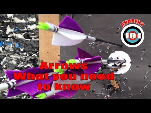 Archery 101: Arrows, what you NEED to know