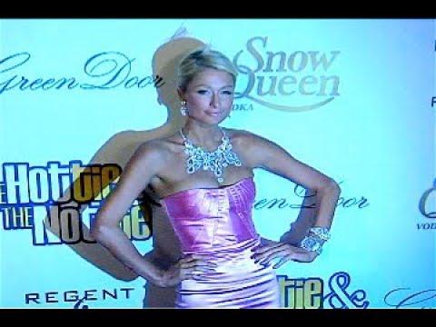 Paris Hilton At Hottie And The Nottie Premiere  2008