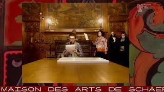 Chloé Lépine lue par Florian Célis @ Maison Des Arts de Scharbeek, Brussels