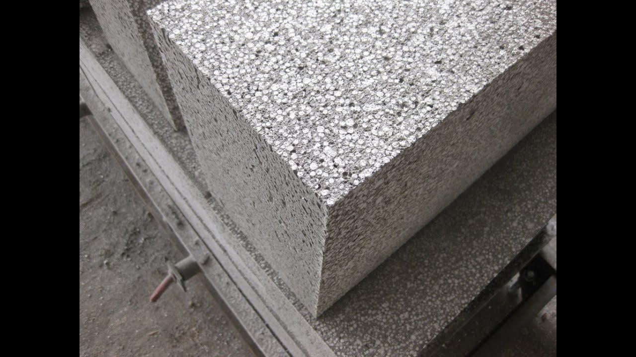 Aerated concrete foam oncrete block making machine ark for Cement foam blocks