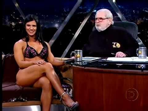 Programa do JÔ - Eva Andressa Vieira é bicampeã brasileira de body fitness.