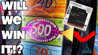 Will We Win This Amazing Prize At Dave & Buster's!?