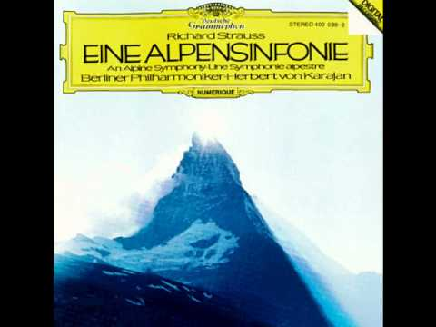 Eine Alpensinfonie , Op. 64 19.Gewitter und Sturm, Abstieg (Thunder and Tempest, Descent).wmv