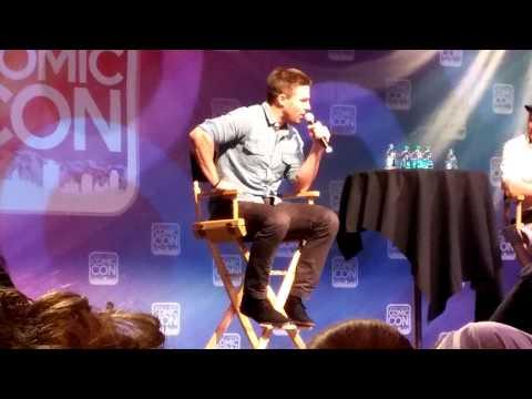 Stephen Amell Panel Salt Lake Comic Con 9/6/14