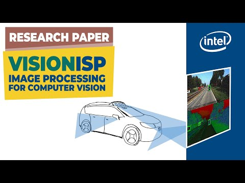 VisionISP: An Image Processing Pipeline For Computer Vision Applications