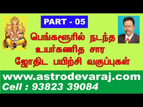 KP Astrology , KP Astrology Classes in Tamil -102 Cell: 9382339084,  Website: www astrodevaraj com