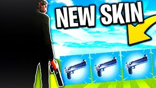 "(NEW) NEW SKIN ""ScarFace"" - NEW PISTOLET ""DEAGLE"" on FORTNITE: Battle Royale! (ABUSED)"