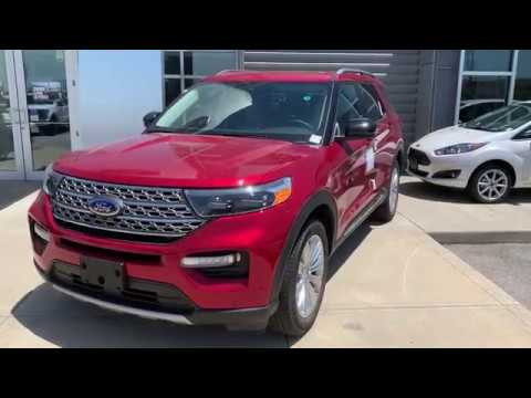 ALL NEW!!! 2020 Ford Explorer Limited -Bill Estes Ford