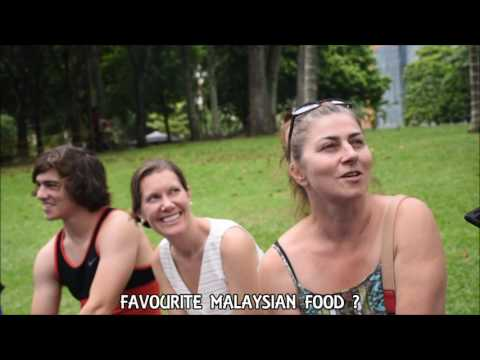 Interviewing Tourists in Malaysia