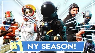 NEW SEASON, NEW SKINS, NEW DANCES & MUCH MUCH MORE! | OUR FIRST GAME! | Fortnite in English!