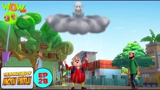 Angry Clouds - Motu Patlu in Hindi - 3D Animation Cartoon - WITH ENGLISH, SPANISH & FRENCH SUBTITLES