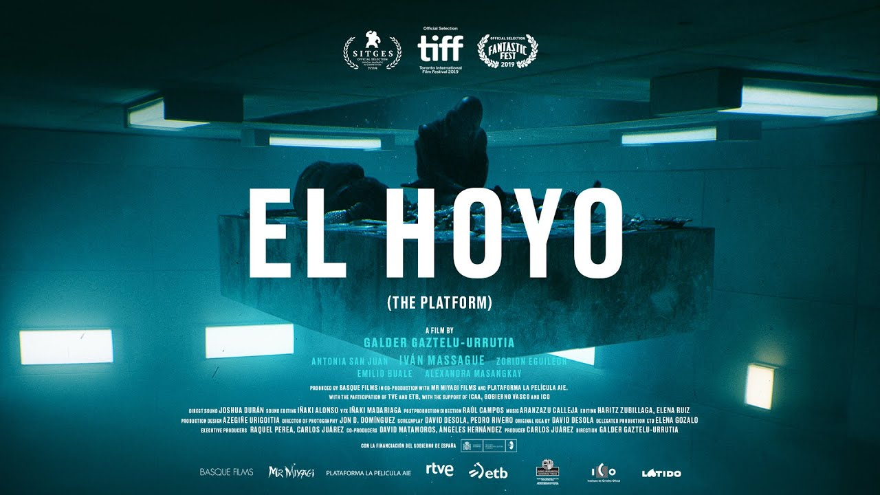 Imagini pentru el hoyo the platform film