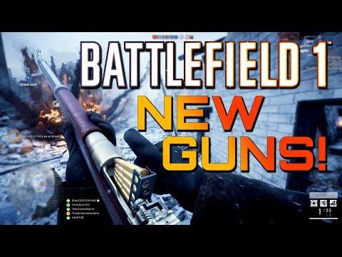 Battlefield 1: NEW GUNS!! Silenced Sniper and more!