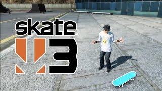 HOW TO GET A GLITCHED SKATEBOARD IN SKATE 3!