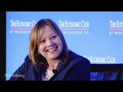 Mary Barra Says She Tests Rival Cars, Pumps Her Own Gas