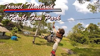Travel Thailand Krabi Fun Park Ao Nang ZipLine Adventure