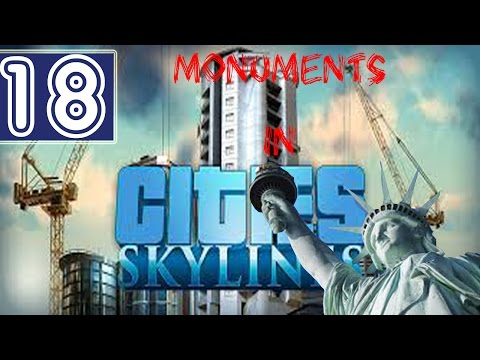 #18: Statue of Liberty in Cities: Skylines - Tourism is Useless