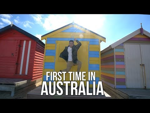 MY FIRST TIME IN AUSTRALIA!