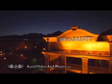 JW Marriott Las Vegas Pool Aerial