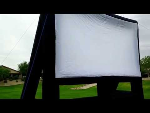 25 x 15 foot Infl8 Outdoor Inflatable Movie Screens