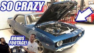 INSANE 69 Camaro Resto Mod! Plus A Cleetus And Jeremy Showdown!
