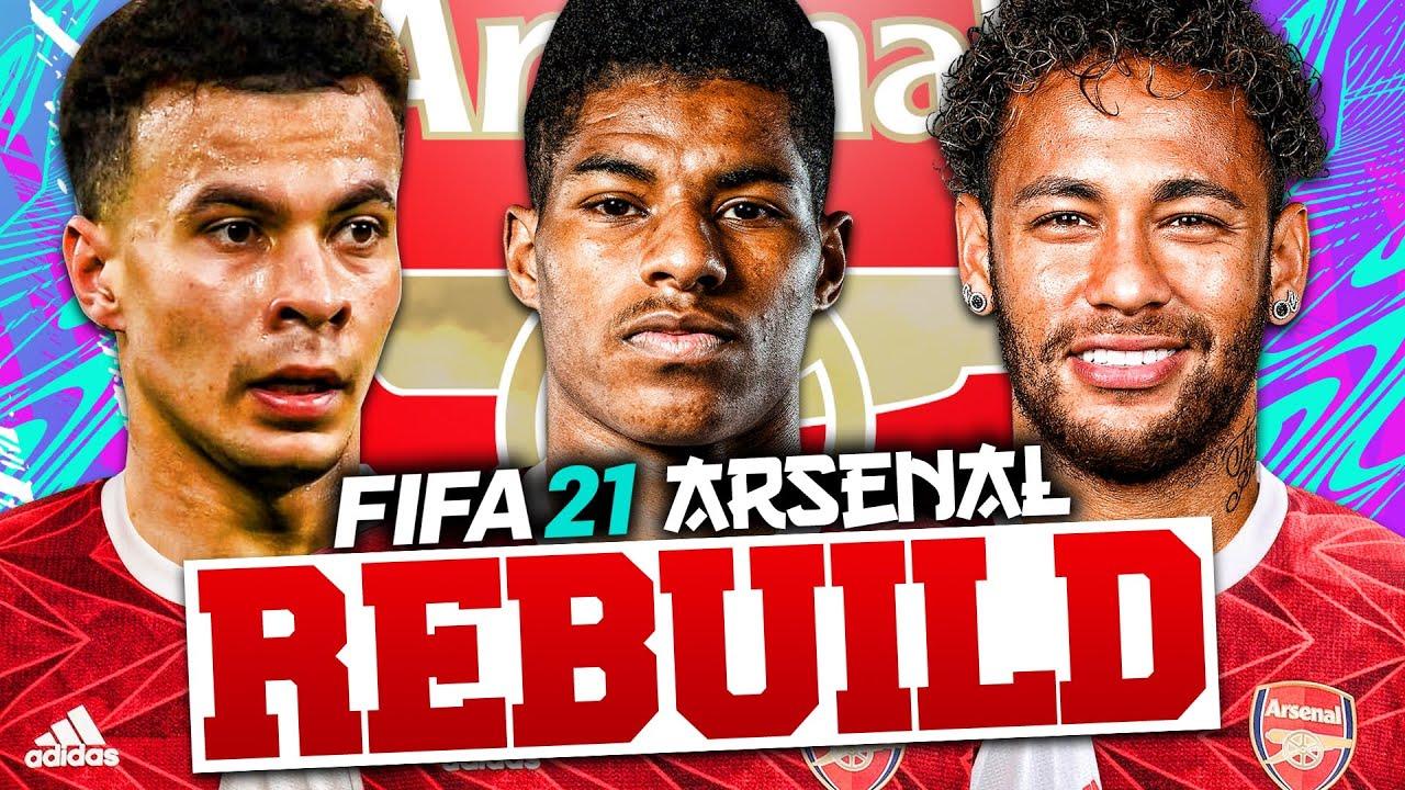 REBUILDING ARSENAL!!! FIFA 21 Career Mode thumbnail