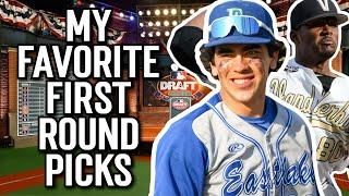My Favorite First Round Picks of the 2021 MLB Draft