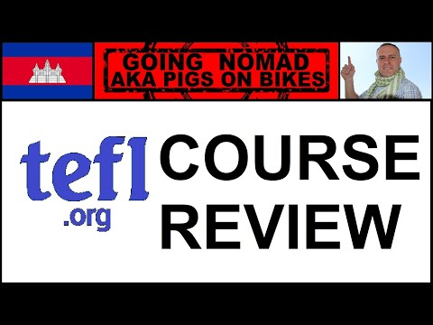 WWW.TEFL.ORG.UK 100 HOUR ONLINE COURSE REVIEW teaching English foreign language.