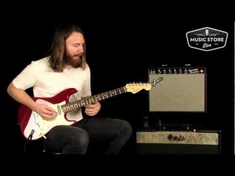 Fender FSR American Standard Lipstick Stratocaster Tone Review and Demo
