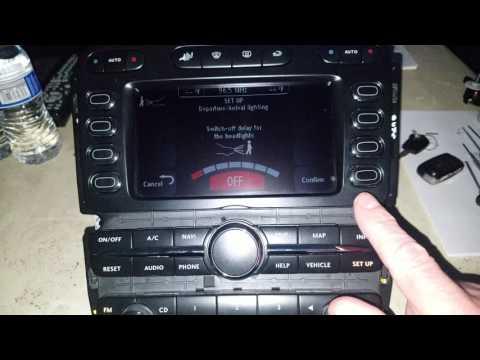 2004-2006 Bentley Continental GT/ GTC / Flying Spur Control Head Infotainment Unit part 1