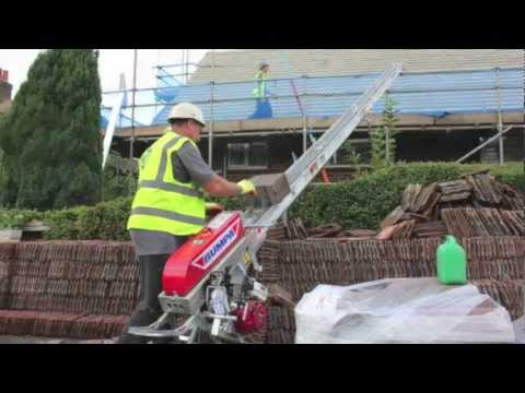 Bumpa Portable Conveyor Tile Hoist Youtube