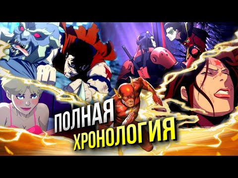 Хронология анимационной вселенной DC | В каком порядке смотреть | Война Апокалипса | Список фильмов
