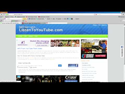 How To Download Music From Youtube - 2012