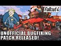 Fallout 4 Unofficial Bugfixing Patch Released mp3