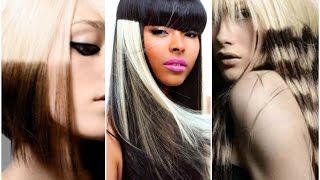 видео Колорирование волос - многоцветное колорирование волос