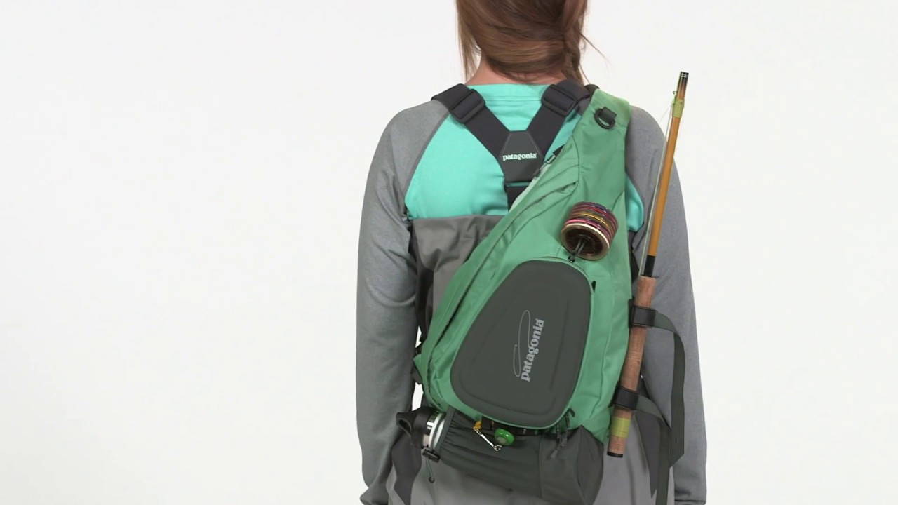 Stealth Atom Sling Fly Fishing pack from Patagonia - YouTube
